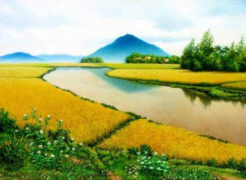 ta canh dep que huong em lop 3 2 - Top 10 bài văn mẫu tả cảnh đẹp quê hương em lớp 3 chọn lọc