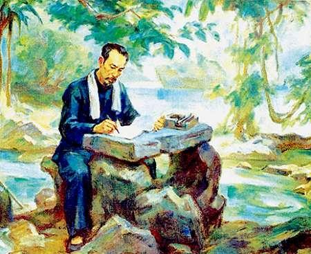 phan tich bai tho tuc canh pac bo cua ho chi minh 1 - Top 10 bài văn mẫu Bài viết số 7 lớp 9 đề 5: Phân tích bài thơ Tức cảnh Pác Bó của Hồ Chí Minh chọn lọc