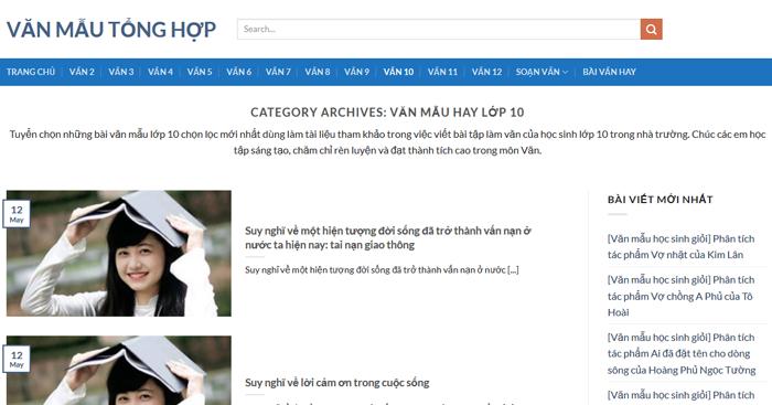 top 10 website nhung bai van mau hay lop 10 moi nhat 3 - Top 10 website những bài văn mẫu hay lớp 10 mới nhất