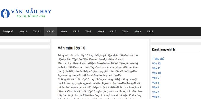 top 10 website nhung bai van mau hay lop 10 moi nhat 8 - Top 10 website những bài văn mẫu hay lớp 10 mới nhất