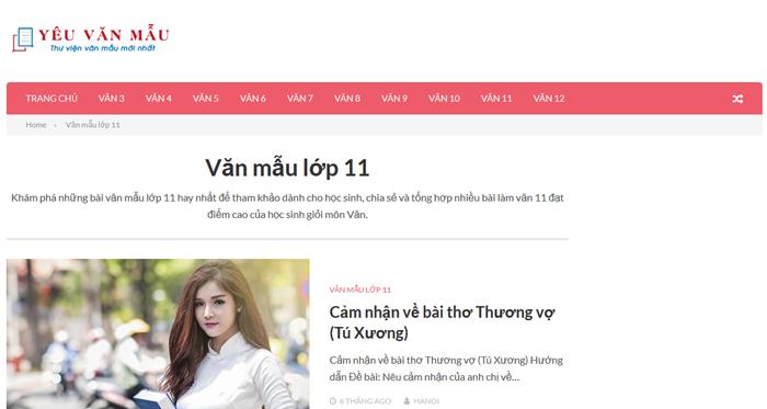 top 10 website nhung bai van mau hay lop 11 moi nhat 2 - Top 10 website những bài văn mẫu hay lớp 11 mới nhất