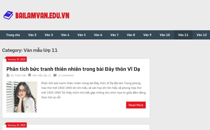 top 10 website nhung bai van mau hay lop 11 moi nhat 3 - Top 10 website những bài văn mẫu hay lớp 11 mới nhất