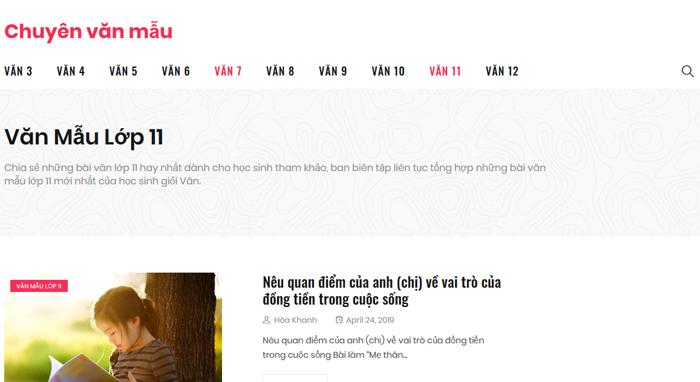 top 10 website nhung bai van mau hay lop 11 moi nhat 4 - Top 10 website những bài văn mẫu hay lớp 11 mới nhất