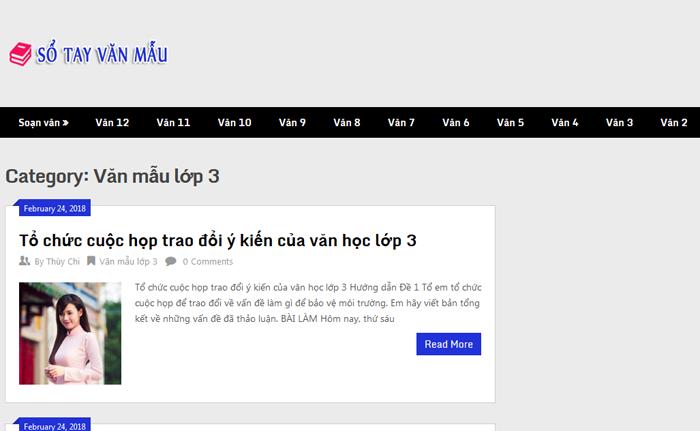top 10 website nhung bai van mau hay lop 3 moi nhat 5 - Top 10 website những bài văn mẫu hay lớp 3 mới nhất