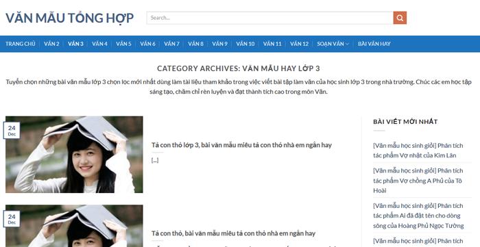 top 10 website nhung bai van mau hay lop 3 moi nhat 9 - Top 10 website những bài văn mẫu hay lớp 3 mới nhất