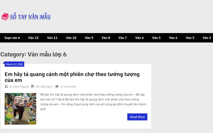 top 10 website nhung bai van mau hay lop 6 moi nhat 8 - Top 10 website những bài văn mẫu hay lớp 6 mới nhất
