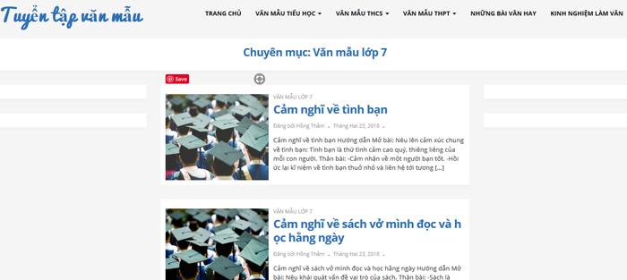top 10 website nhung bai van mau hay lop 7 moi nhat 8 - Top 10 website những bài văn mẫu hay lớp 7 mới nhất
