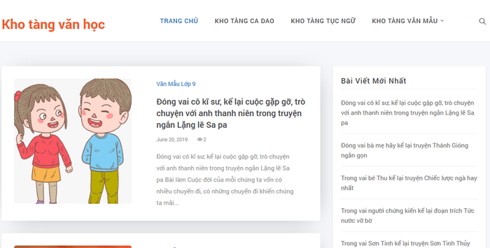 top 10 website nhung bai van mau hay lop 8 moi nhat 1 - Top 10 website những bài văn mẫu hay lớp 8 mới nhất