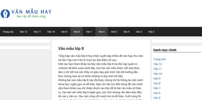 top 10 website nhung bai van mau hay lop 8 moi nhat 7 - Top 10 website những bài văn mẫu hay lớp 8 mới nhất