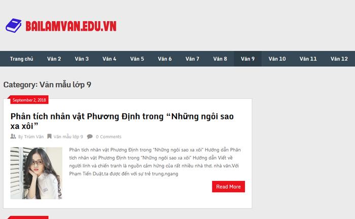 top 10 website nhung bai van mau hay lop 9 moi nhat 2 - Top 10 website những bài văn mẫu hay lớp 9 mới nhất